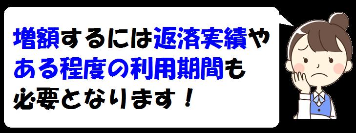 ジャパンネット銀行での増額条件