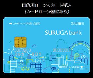 スルガ銀行・目的別ローン<カード型>
