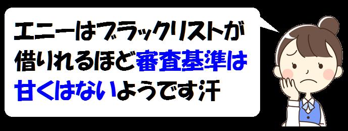 エニー審査基準