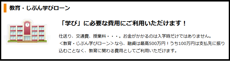 東京スター銀行教育ローン