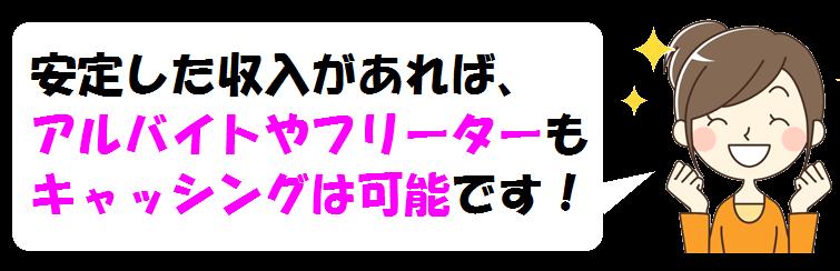 東京スター銀行カードローンでアルバイトやフリーター