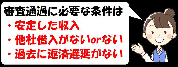 三井住友銀行カードローンの審査