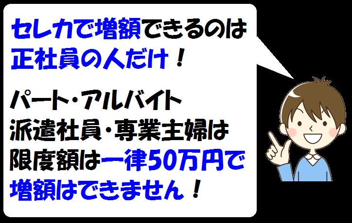 静岡銀行セレカの増額方法